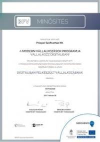 Modern Business Program - Certification